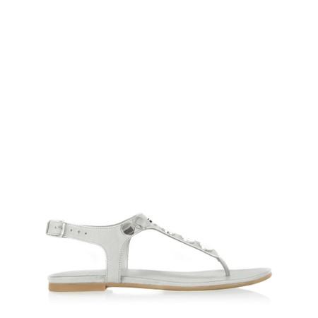 9b517c2d942b2f INUOVO Laura Flat Sandal - Off-White