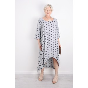 Thing Relaxed Spot Crepe Dress