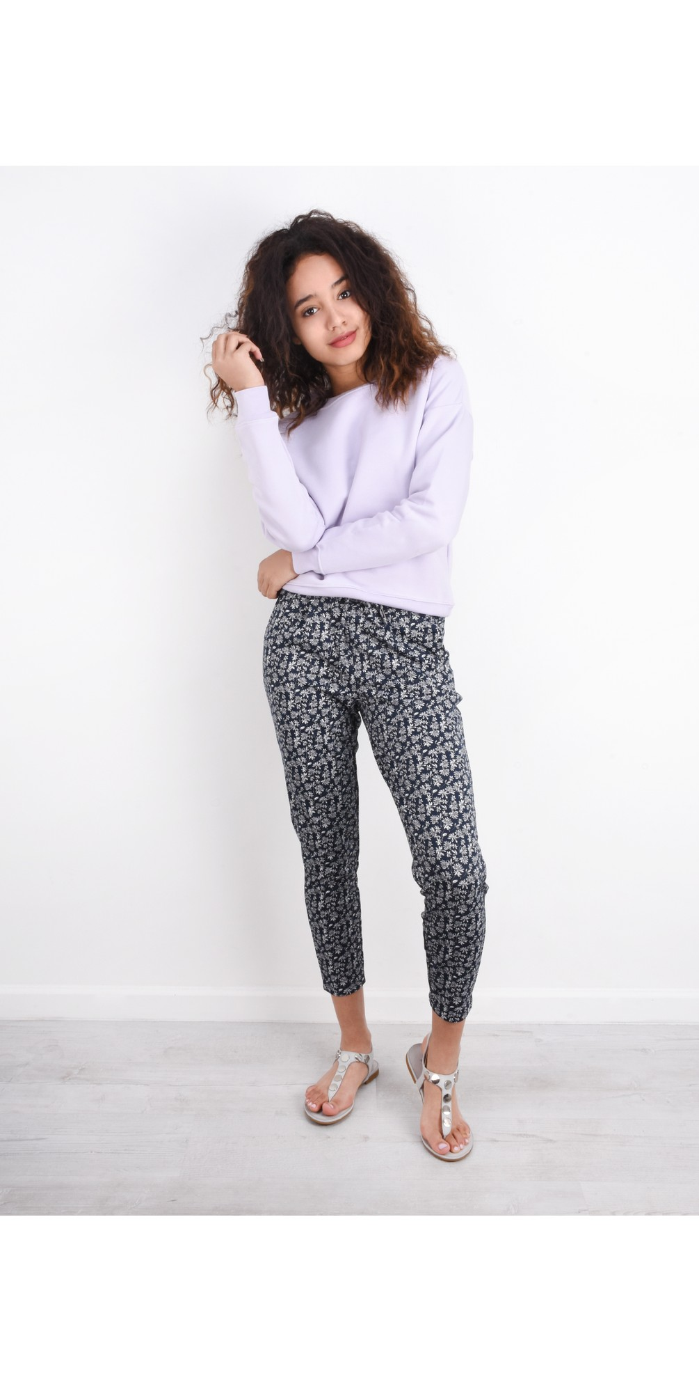 Kate Print Trouser main image