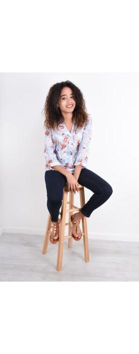 INUOVO Laura Flat Sandal  Coconut
