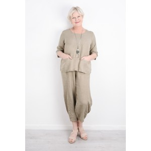 Thing Linen Pocket Top