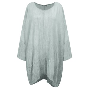 Grizas Vilte Long Sleeve Linen Tunic