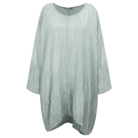 Grizas Vilte Long Sleeve Linen Tunic - Grey