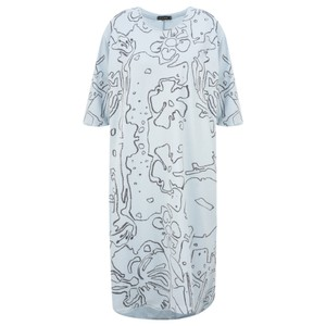 Grizas Klaudia Printed Jersey Tunic Dress