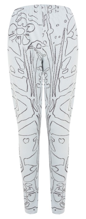 Grizas Elze Printed Jersey Leggings Breeze