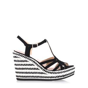 Kanna Coral Wedge Sandal