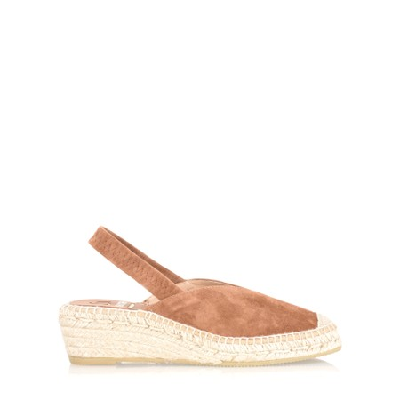 Kanna Dagne Espadrille Wedge Sandal - Brown