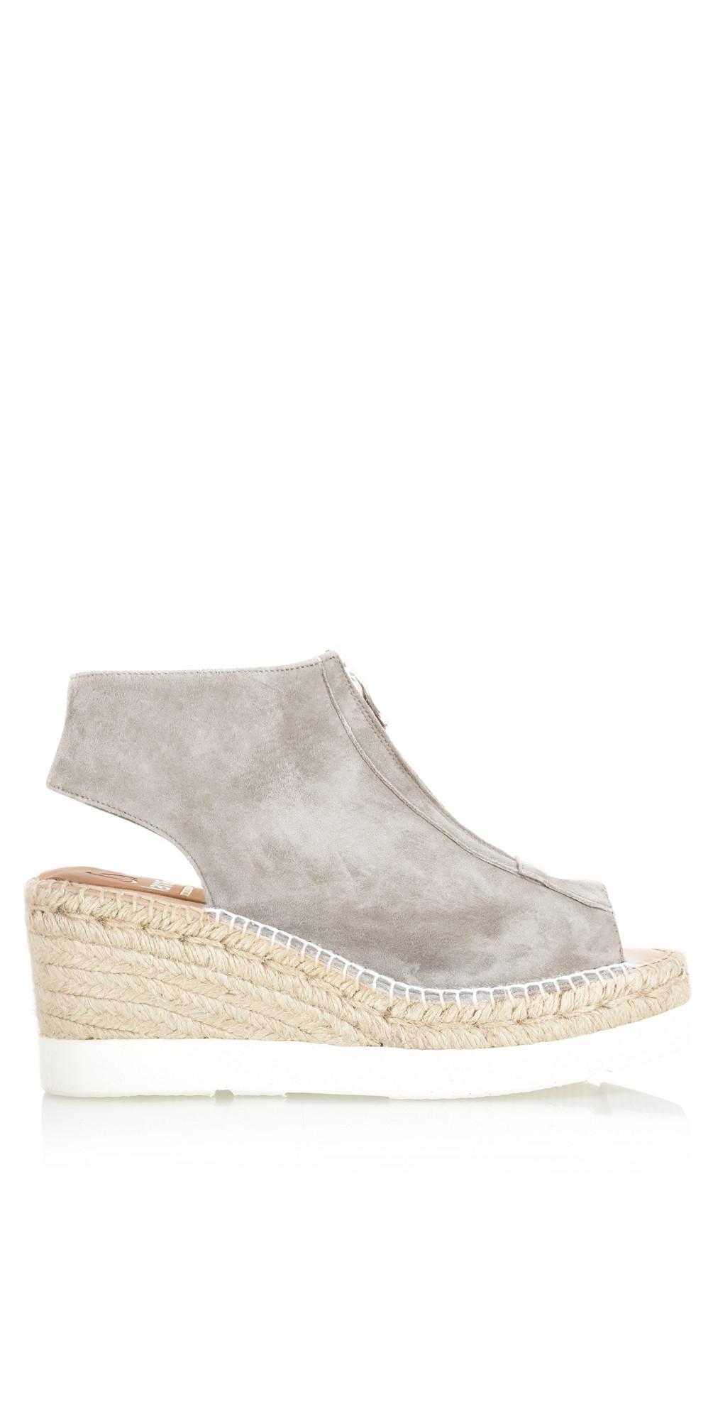 b684ec51fe9c Kanna Moira Espadrille Wedge Sandal in Taupe