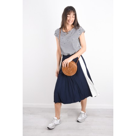 Sandwich Clothing Pleated Circle Skirt - Blue