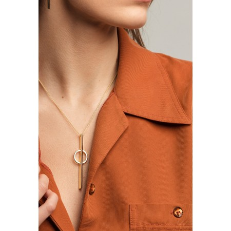 Tutti&Co Sphere Necklace - Gold