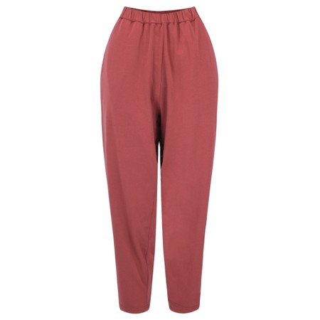Mama B Raro Izmir Plain Trouser - Red