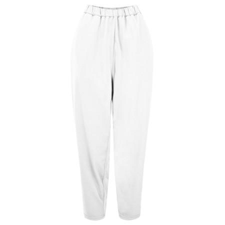 Mama B Raro Izmir Plain Trouser - White