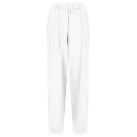 Mama B Clima Izmir Plain Trouser - White