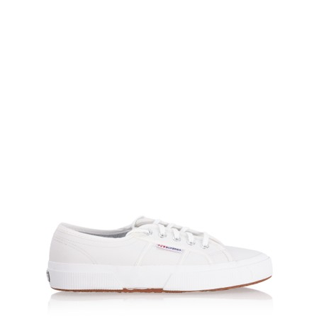 Superga 2750 Efglu Classic Leather Trainer - White