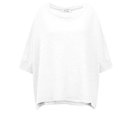 Mama B Lago Hemp Top - White