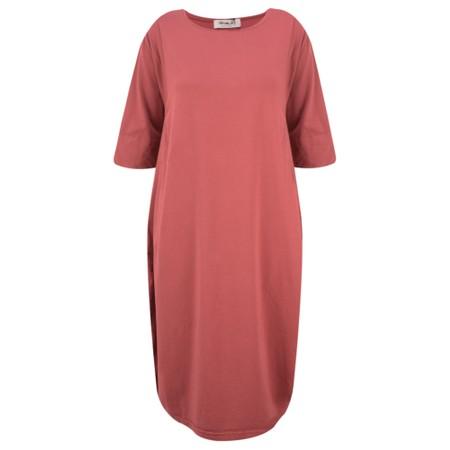 Mama B Golfo Izmir Plain Dress - Red