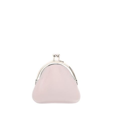 Gemini Label  Allegra Leather Purse - Pink