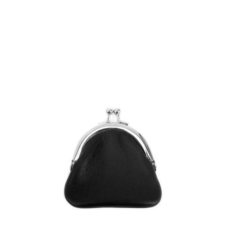 Gemini Label  Allegra Leather Purse - Black