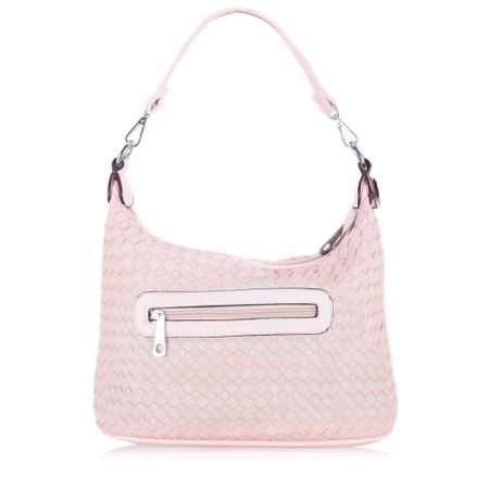 Gemini Label  Luna Weave Shopper - Pink