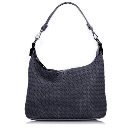 Gemini Label  Luna Weave Shopper - Blue