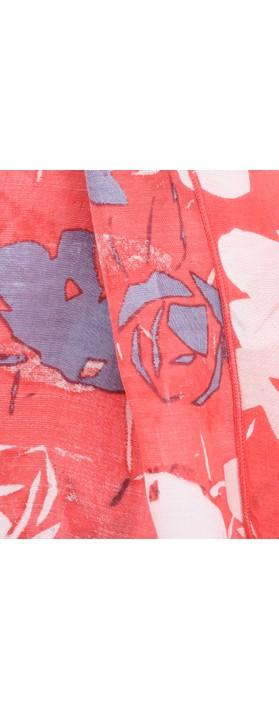 Adini Bridget Print Bridget Shawl Poppy