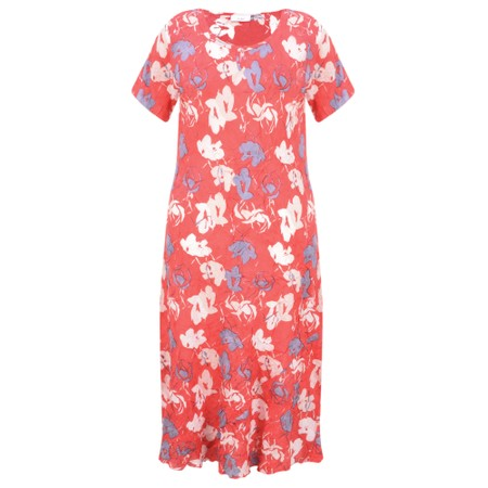 Adini Bridget Print Bridget Dress - Red