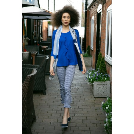 Masai Clothing Deena Top - Blue