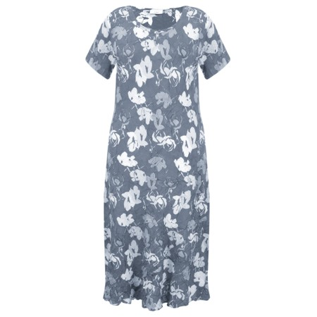 Adini Bridget Print Bridget Dress - Blue