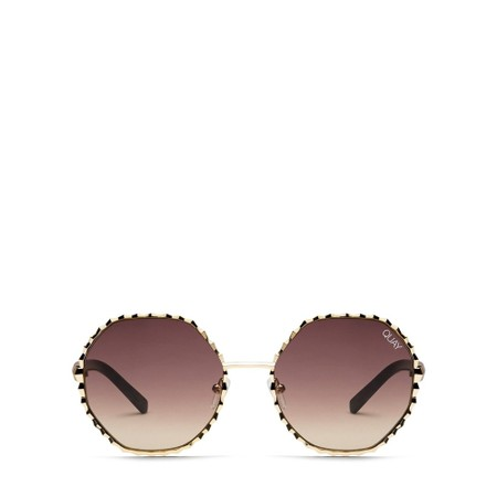 Quay Australia Breeze In Sunglasses - Gold