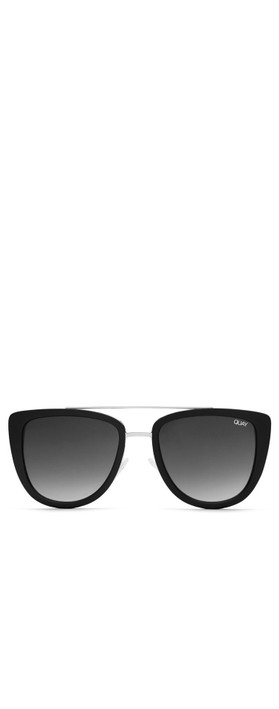 Quay Australia French Kiss Sunglasses Black/Smoke