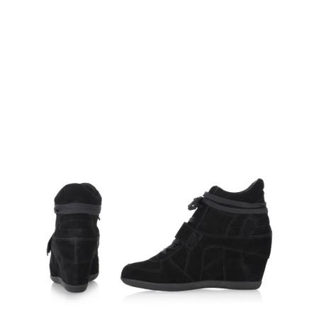 Ash Bowie Wedge Trainer Shoe - Black
