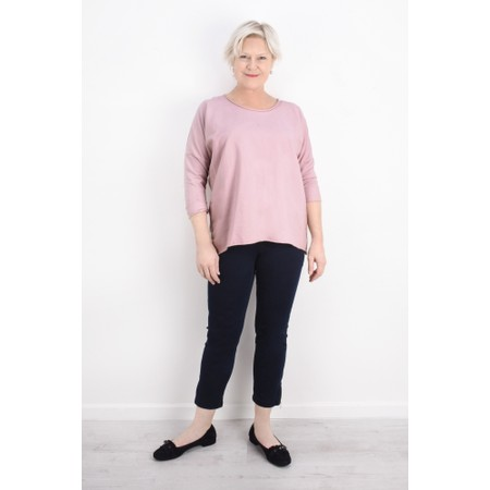 Aisling Dreams Sigge Slub Jersey Relaxed Top - Pink