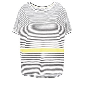 Sandwich Clothing Relaxed Stripe Print Top