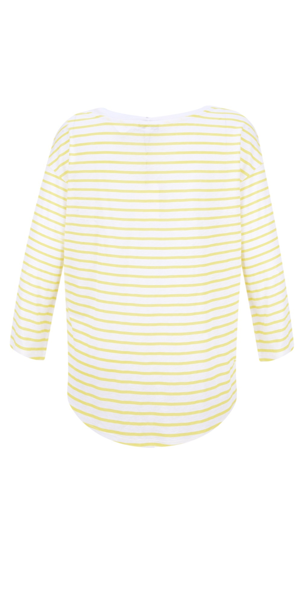 Striped Linen Jersey Top main image