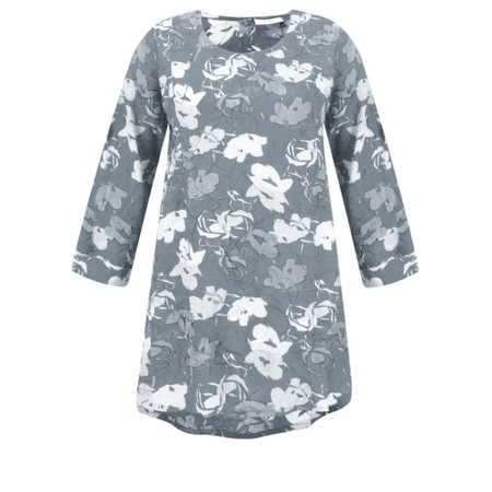Adini Bridget Print Millie Tunic - Blue