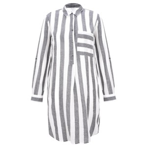 Sandwich Clothing Striped Seersucker Blouse