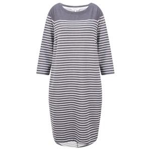 Sandwich Clothing Stripe Print French Terry Dress