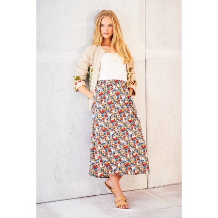 Adini Nadia Print Andrea Skirt - Multicoloured