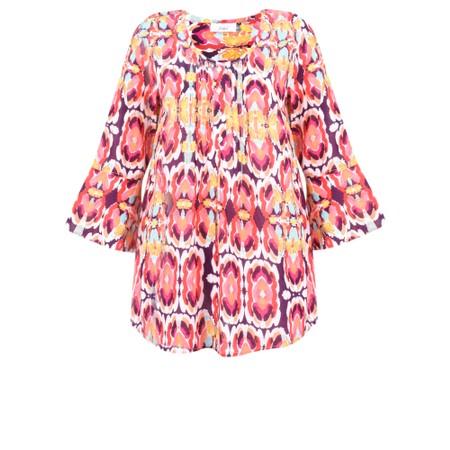 Adini Kiribati Print Fiji Tunic - Pink