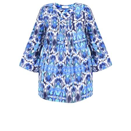 Adini Kiribati Print Fiji Tunic - Blue