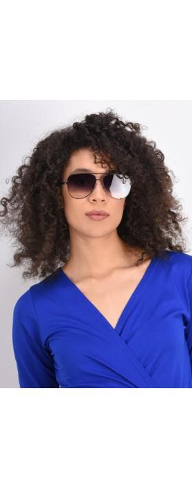 Quay Australia High Key Mini Sunglasses Black Fade