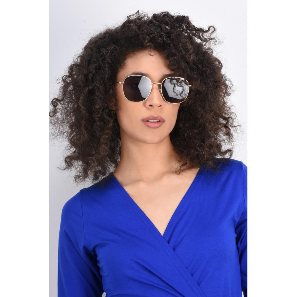 Quay Australia Jezabell Sunglasses Gold/Smoke
