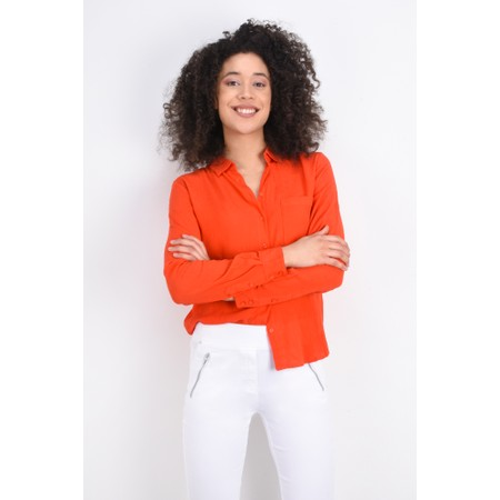 ICHI Marrakech Shirt - Orange