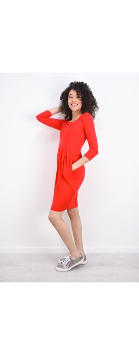 Masai Clothing Hope Tunic Dress Chili