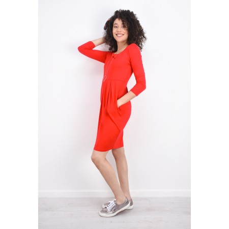 Masai Clothing Hope Tunic Dress - Red