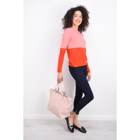 ICHI Rillo Knit Jumper - Pink