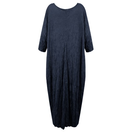 Thing Crinkle Easy Fit Dress - Blue