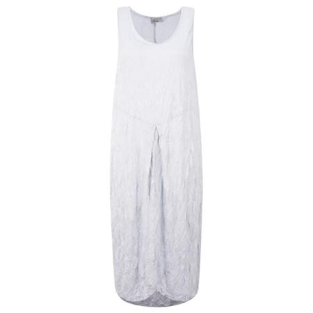 Thing Crinkle Easy Fit Dress - Metallic
