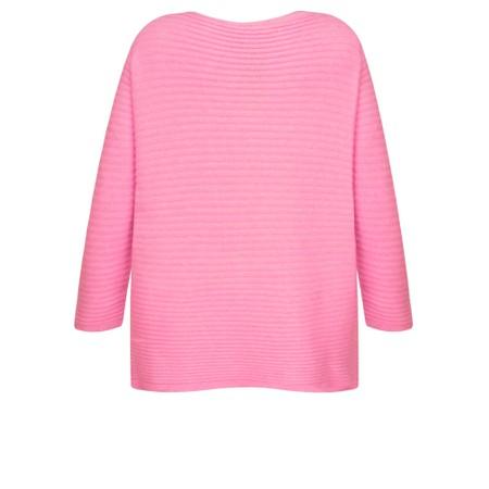 DECK Raegan Supersoft Rib Knit Jumper - Pink