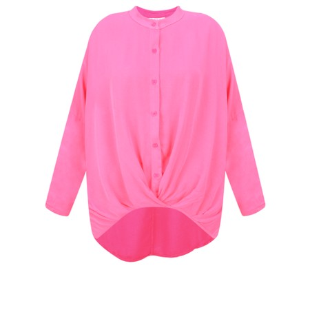 DECK Evie Easyfit Shirt Top - Pink